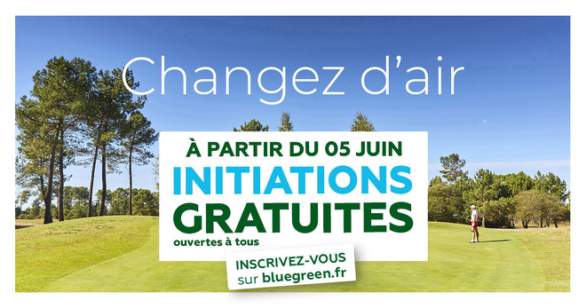 Initiation gratuite au golf