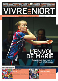 couverture Magazine vivre à niort : oct-13
