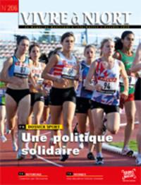 couverture Magazine vivre à niort : Numéro d'octobre 2010