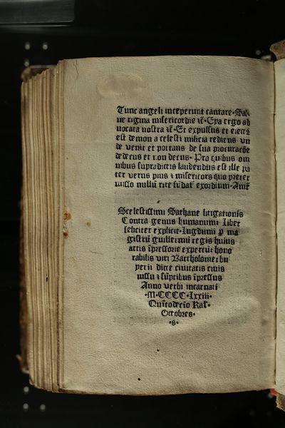 Conférence : Le Compendium Breve, premier livre imprimé