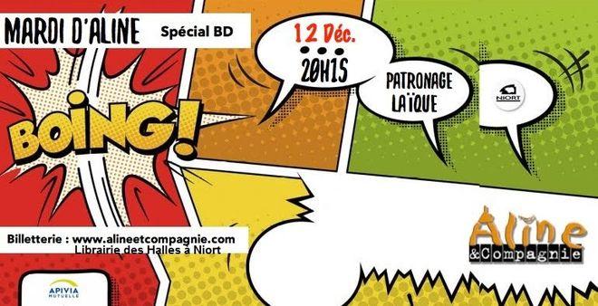 Mardi d'Aline et Cie : Spécial BD