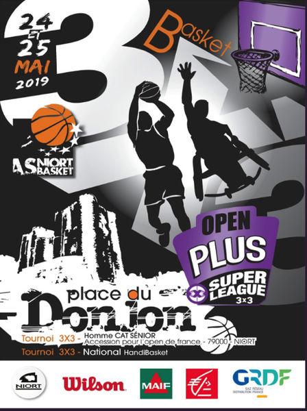 Basket : Tournoi Open Plus 3X3