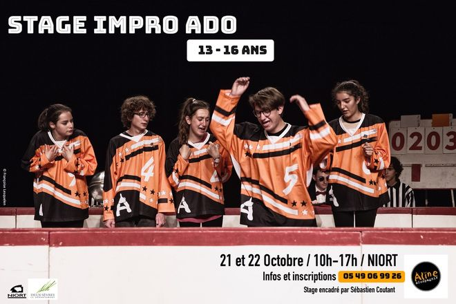 Stage Impro Ados (13 - 16 ans)