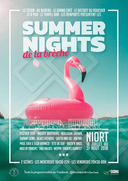 Concerts : Les Summer Nights de la Brèche