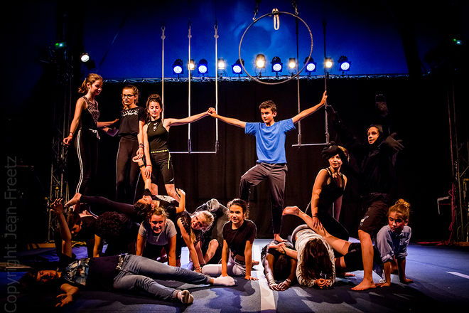 Stages d'été de Cirque en Scène