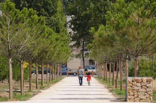 Le parc urbain du Clou-Bouchet - Photo Bruno Derbord