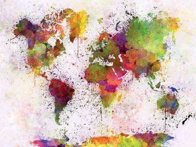 Les 6 continents mis en voix et en musique