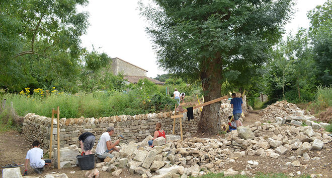restauration murets en pierre Chemin des Brouettes ©BDerbord