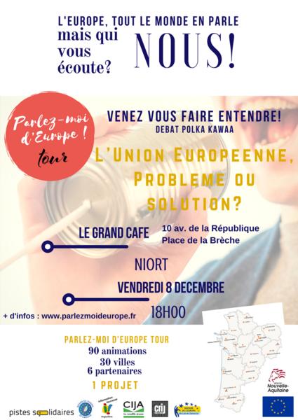 Débat : Parlez-moi d'Europe Tour