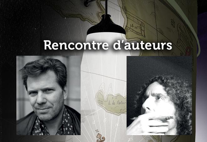 Regards Noirs : rencontre d'auteurs avec Olivier Truc et Toni Carbos