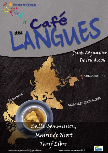 Rencontre : Café des langues
