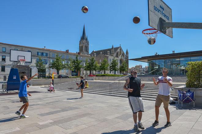 Niort Plage : Basket