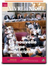 couverture Magazine vivre à niort : Numéro de Avril 2008