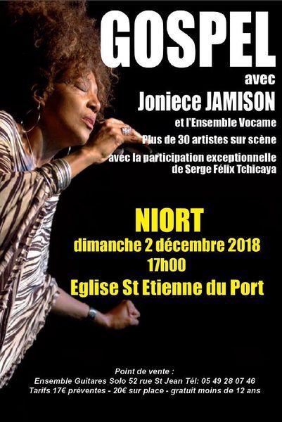 Concert : Gospel Joniece Jamison et Vocame