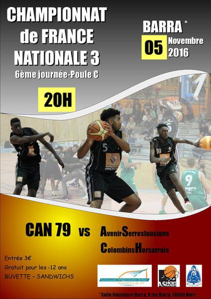 Basket : championnat de France nationale 3