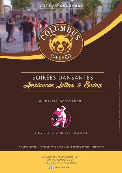 Soirées dansantes au Columbus café