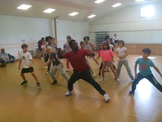 Stage de hip hop