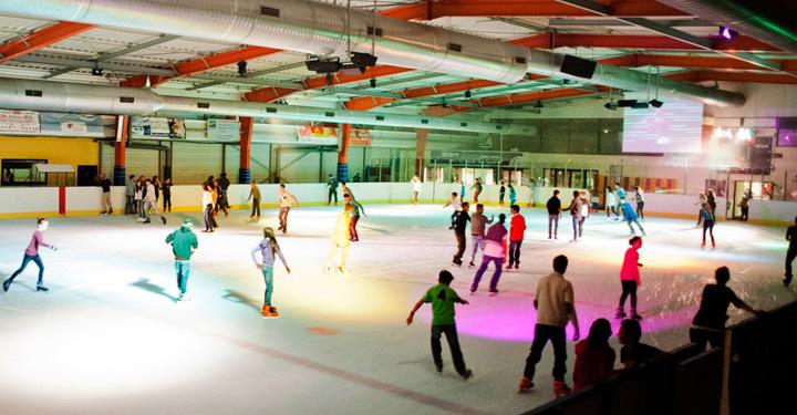 Soirée à la patinoire de Niort ©Christophe Bernard