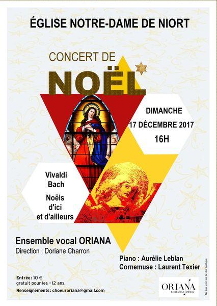 Concert de Noël : Ensemble vocal Oriana