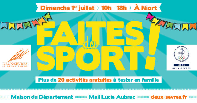 Animations : Faites du sport !
