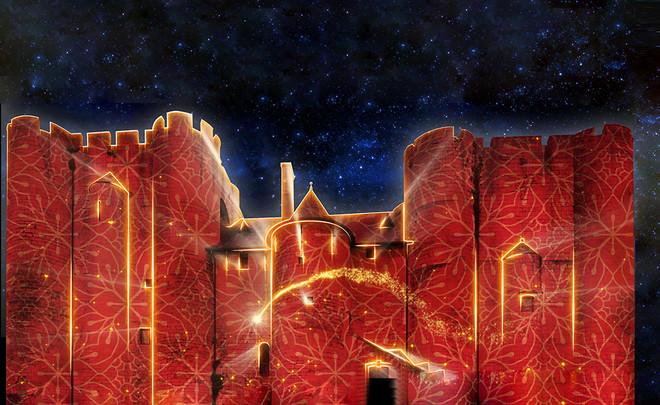 Noël à Niort : projection sur le Donjon