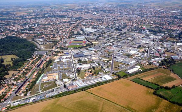 La zone d'activités économiques de Saint-Florent - Photo Bruno Derbord