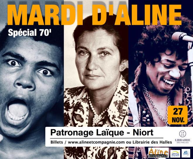 Théâtre : Mardi d'Aline et Cie