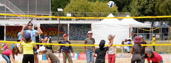 Centre de loisirs à Niort Plage, 2012. Crédit : Bruno Derbord