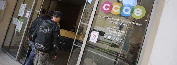 Photo de l'entrée du CCAS de Niort