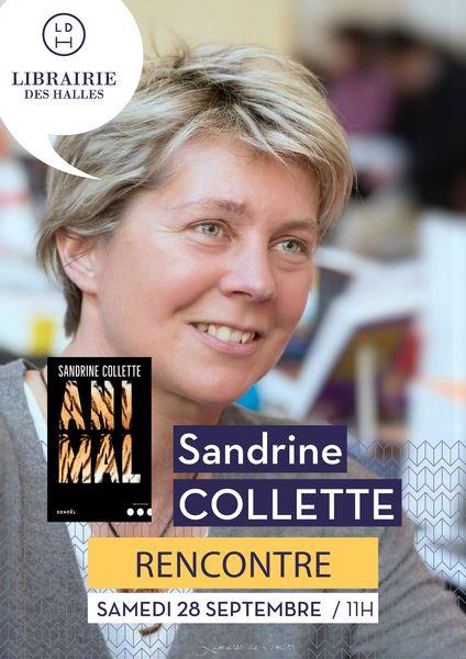 Rencontre avec Sandrine Collette