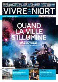 couverture Magazine vivre à niort : Décembre 2013 - janvier 2014