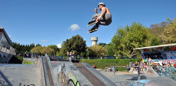 Skate park du pr leroy mairie de niort - Piscine pre leroy ...