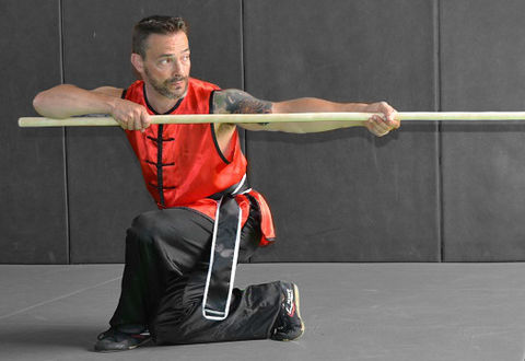 Illustration article : Sport : Kung Fu à Niort