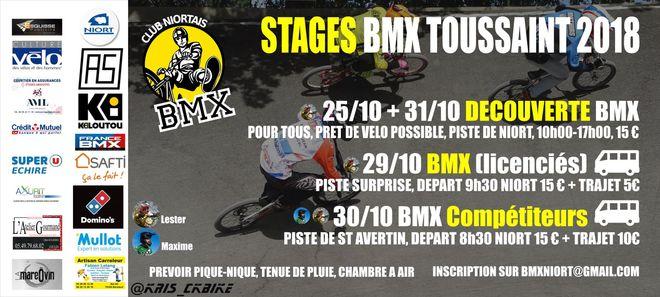 Sport : stages BMX Race