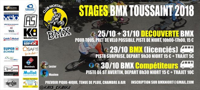 Sport : stages BMX Race