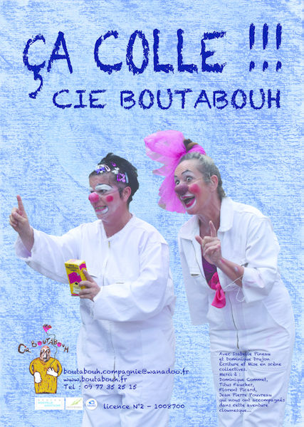 "Spectacle de clowns : ""Ça colle !!!"""