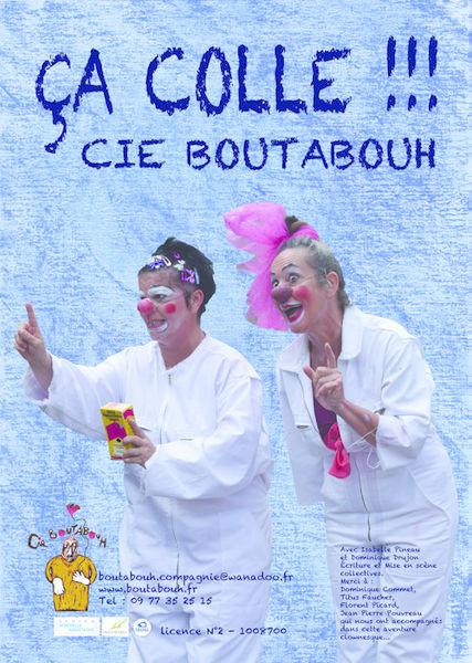 """Spectacle de clowns : """"Ça colle !!!"""""""