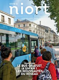 couverture Magazine vivre à niort : Numéro de septembre 2018
