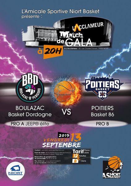 Basket : Match de gala #2