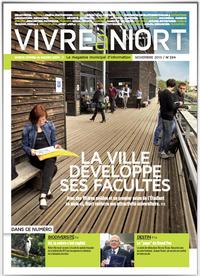 couverture Magazine vivre à niort : nov-13