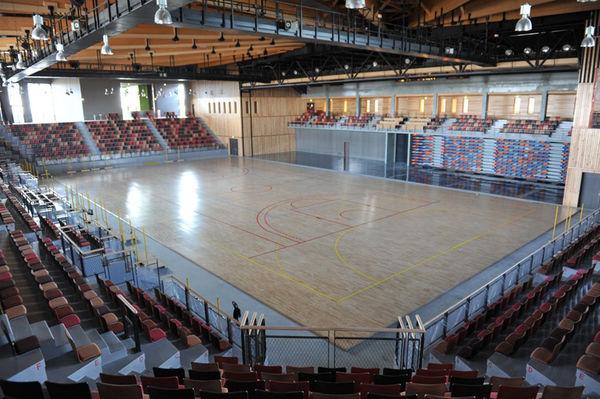 Salle évènementielle L'Acclameur - configuration évènement sportif