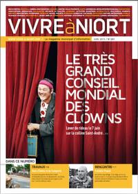 couverture Magazine vivre à niort : juin-13