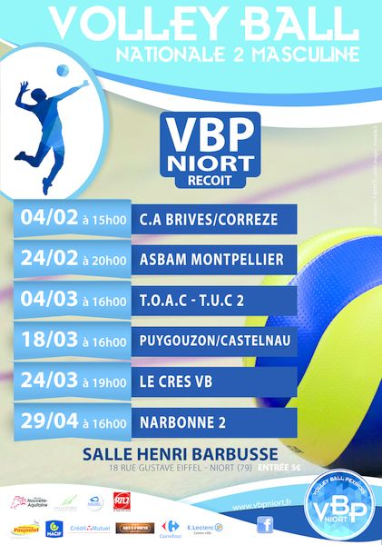 Volley ball : Championnat N2 Masculine