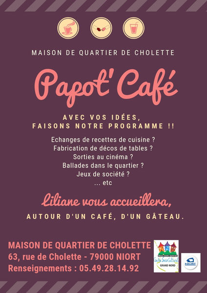 Rencontres : 1er Papot'Café