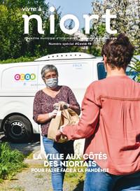 couverture Magazine vivre à niort : Numéro Spécial Covid-19