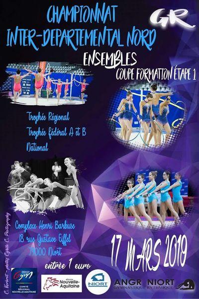 Championnat inter-départemental de gymnastique rythmique