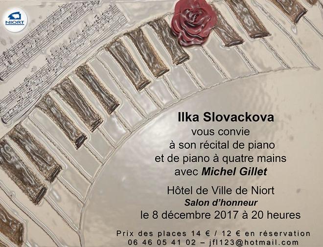 Récital de piano par Ilka Slovackova
