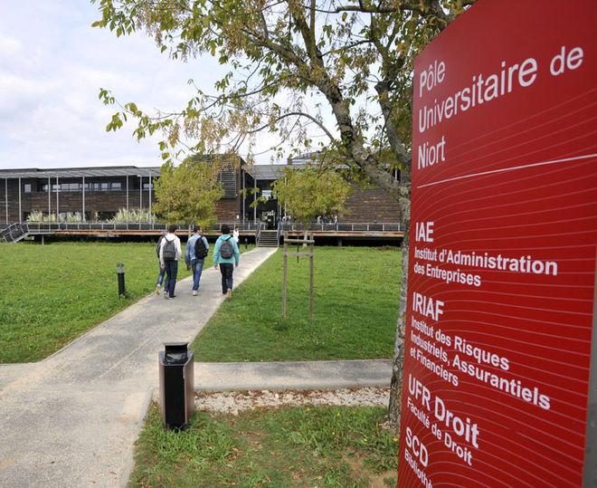 Le Pôle Universitaire de Niort vous ouvre ses portes