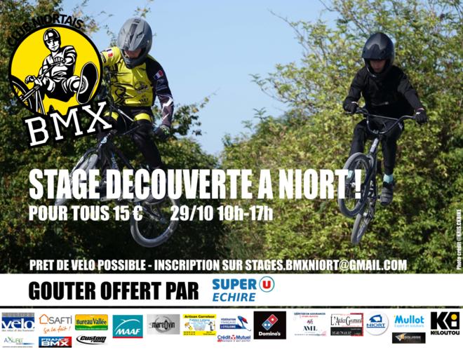 Stage BMX Club Niortais