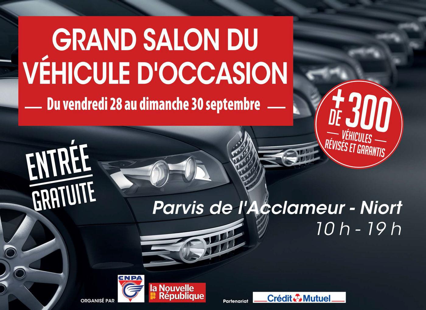 Véhicule D Occasion >> Grand Salon Du Vehicule D Occasion Mairie De Niort
